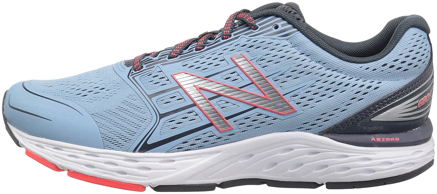 New Balance Shoe Women's 680v5 Cushioning Running Shoe Balance B06XSFBWX9 9 B(M) US|Sky Blue 64cf83