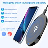 Fast Wireless Charger, Zttopo Qi-certificated