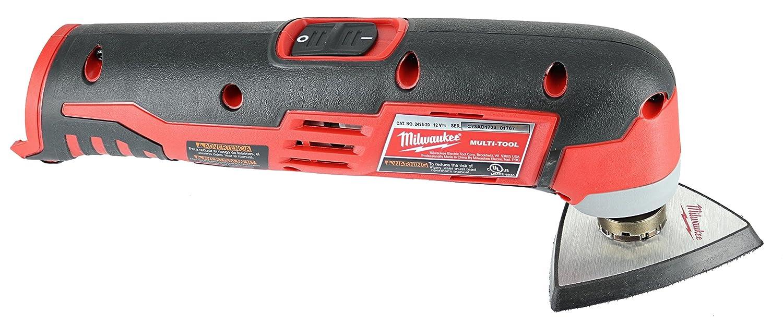 Milwaukee 2426-20 M12 Cordless Multi-Tool, Tool Only - Power Rotary Tools -  Amazon.com