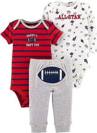 Penguin Pants Carter/'s 3 Piece Set for Baby Girls Puppies One-Piece Bodysuits
