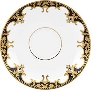 Lenox Marchesa Couture Night Saucer, Baroque