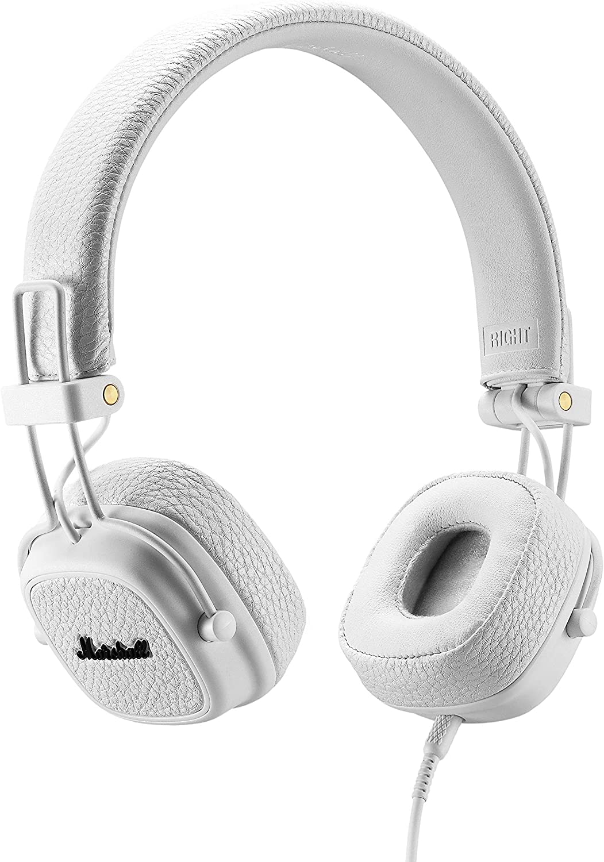 Marshall Major Iii Faltbare Kopfhörer Weiß Audio Hifi