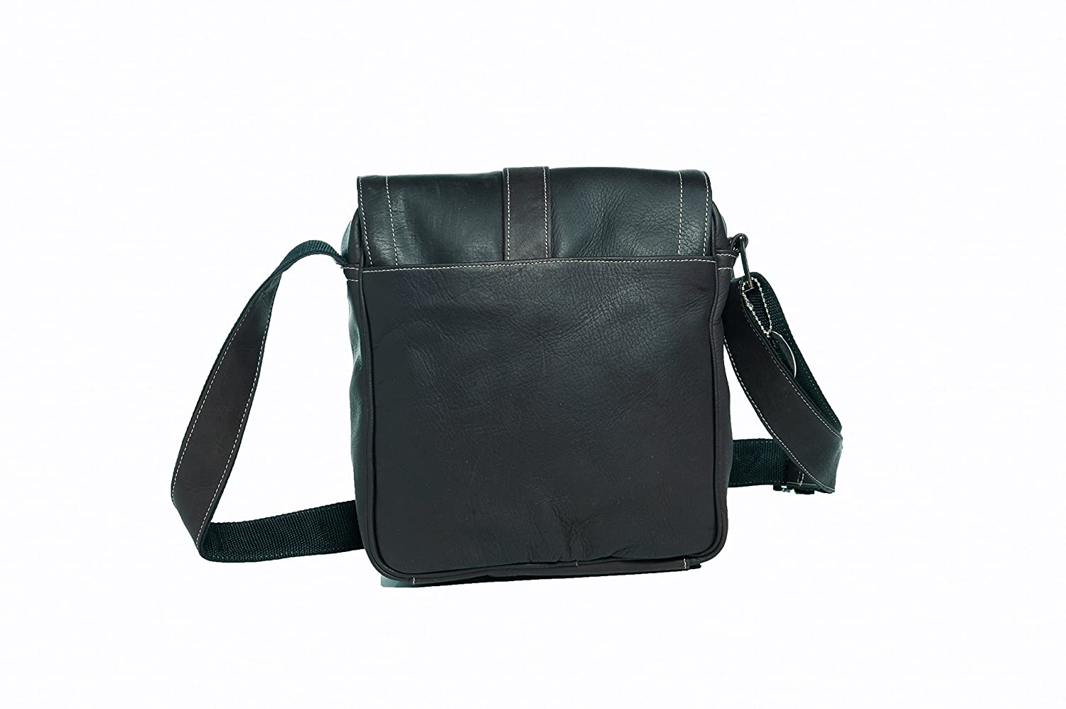 Cafe Deluxe Medium Messenger with Buckle David King /& Co One Size