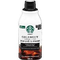 Starbucks Cold Brew Coffee Concentrate, Signature Black, 946 milliliters