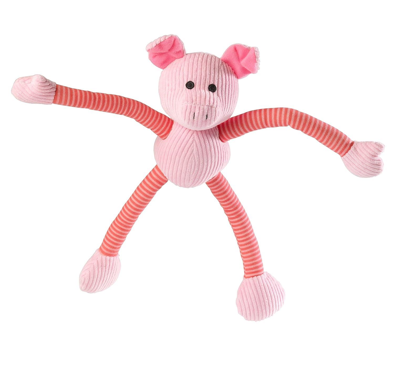 House of Paws Barnyard Piggy Long Legs Dog Toy, Large