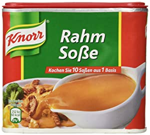 Knorr Creamy Gravy for Meat (Rahm-Sosse) 1.75L