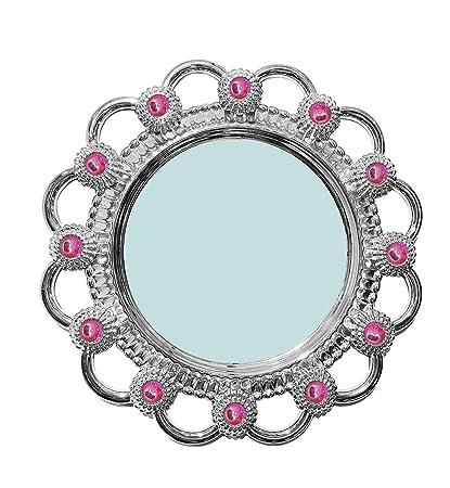 Majik Wall Mirror for Living Room Modern, Silver, 30 Gram, Pack of 1