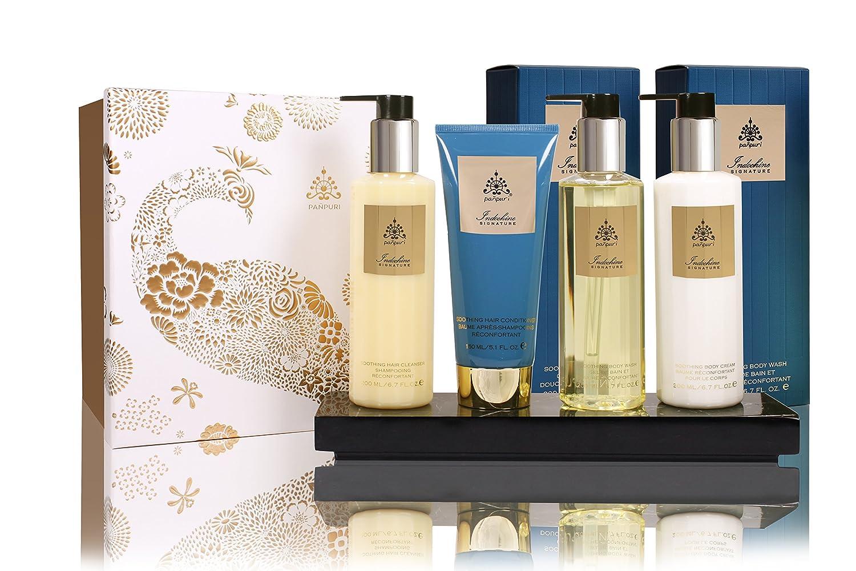 PANPURI Coffret de Bain et Soins pour le Corps Bouquet Apaisant, 4 Produits, Citronelle/Mandarine Pañpuri ICSET1M_2016