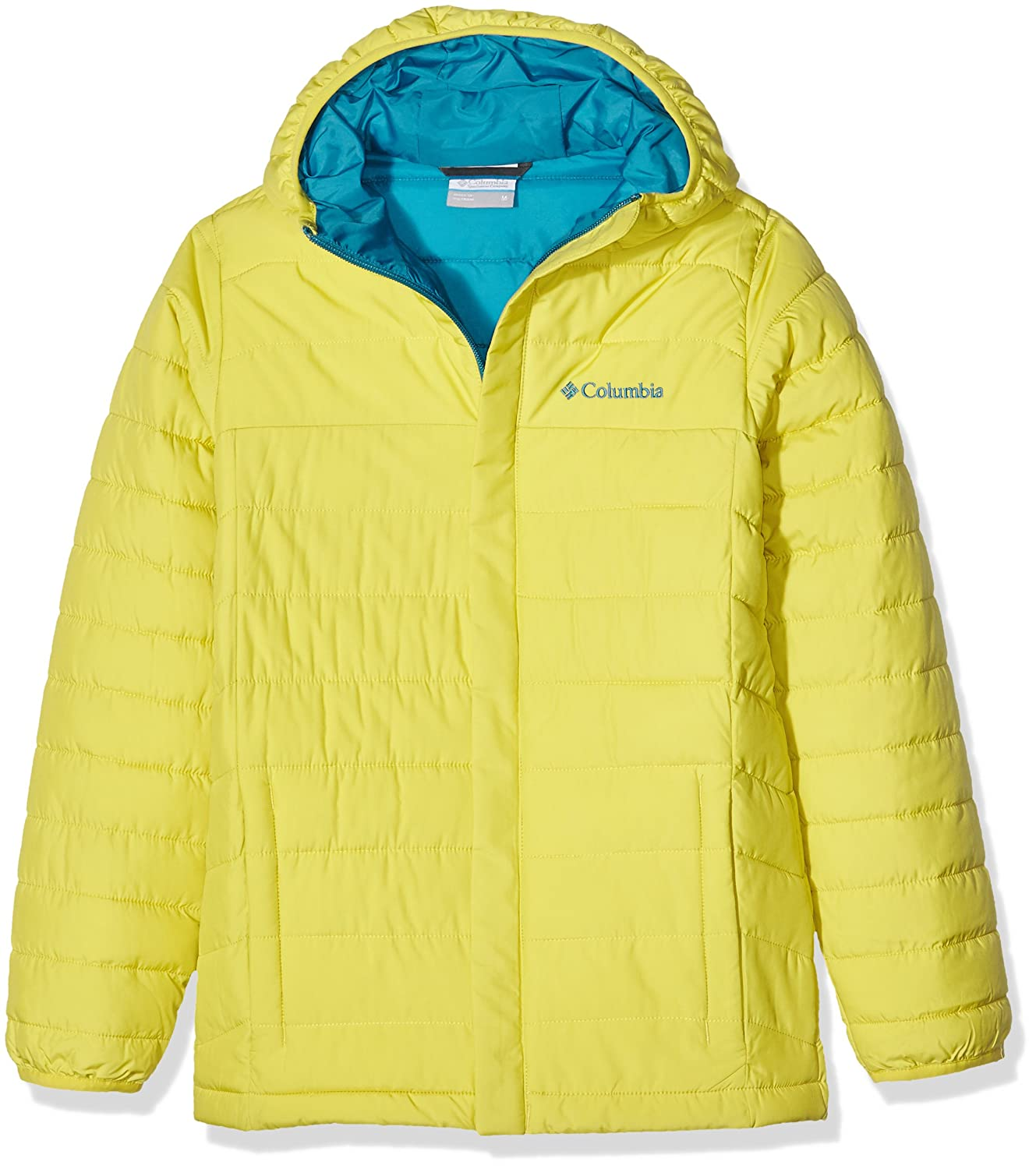 Columbia Powder Lite Puffer Doudoune Mineral Yellow 888667465635