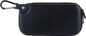 Wolfteeth Vapor Case Hard Shell Vaporizer Holster Vapor Pouches Supplies Organized Accessories Vape Bag Fits Coils Tank Holder (Case Only) Black 122402
