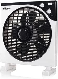 Tristar VE-5996 Ventilador de sobremesa, diámetro 30 cm, 40 W, función de temporizador: Amazon.es: Bricolaje y herramientas