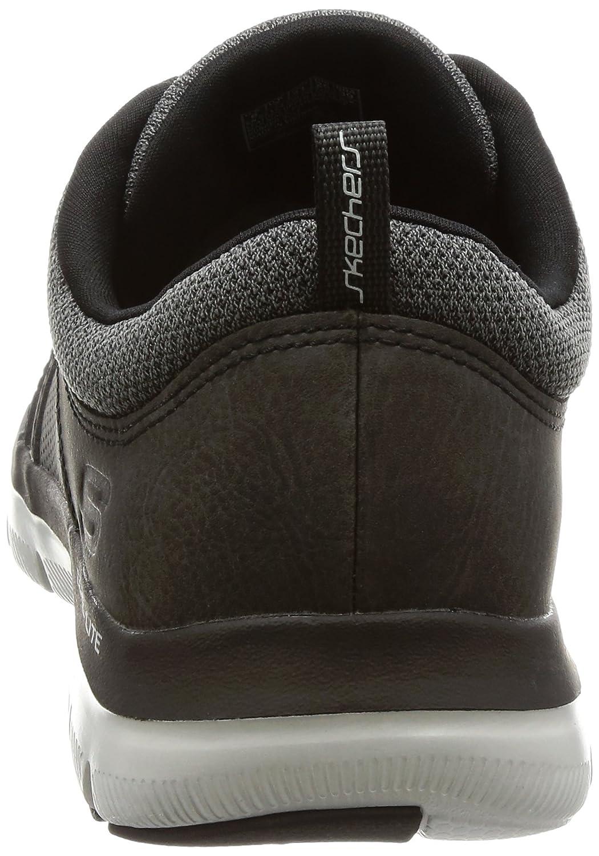Skechers Men FLEX VENTAJA 2.0 Dali 52124 / BLK negro: Amazon.es: Zapatos y complementos