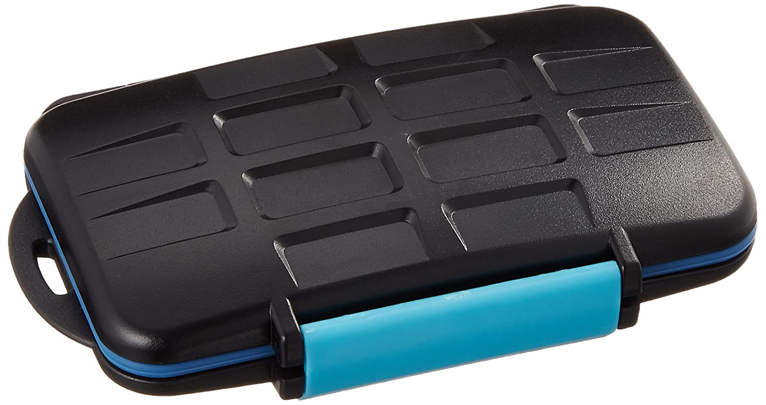 JJC MC-2 BLU PORTA MEMORIE water proof per SD CF