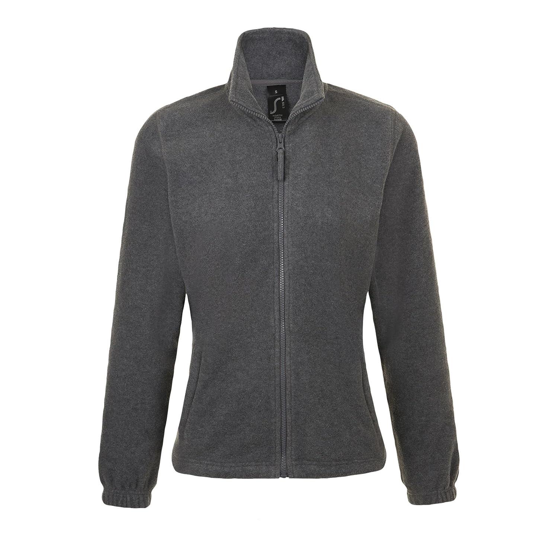 SOLS Damen North Fleece-Jacke mit durchgehendem Rei/ßverschluss