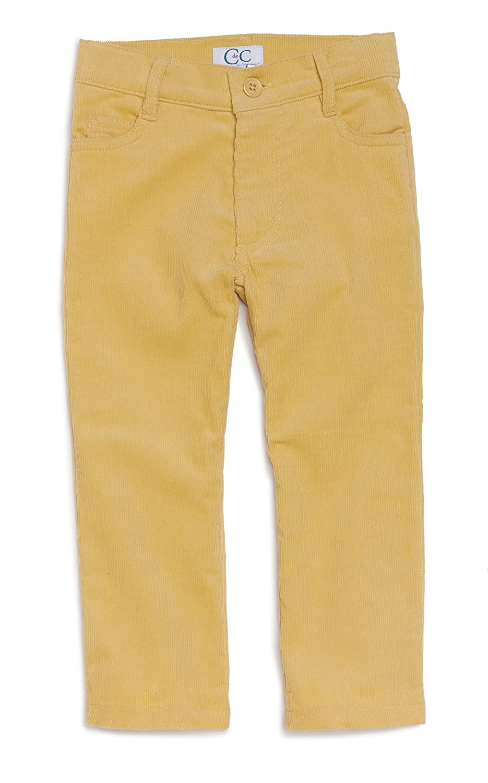 C de C Yellow Slim Cords 4 Pocket Pants