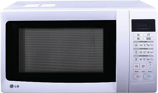 LG - Microondas Mc7849H, 28L, 900W, Grill Simultaneo, Blanco ...