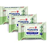 Germisept 75% Alcohol Advanced Hand Sanitizing Wipes 3 Packs of 50 Count/Pack = 150 Wipes
