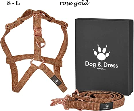 Dog & Dress by Nacy Kena – Correa para Perros con arnés, Juego de ...