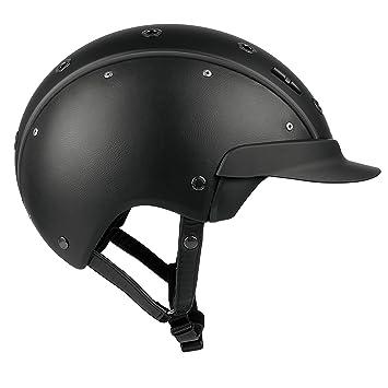 Casco Master de 6 equitación, Todas Las Estaciones, Color Negro, tamaño M (