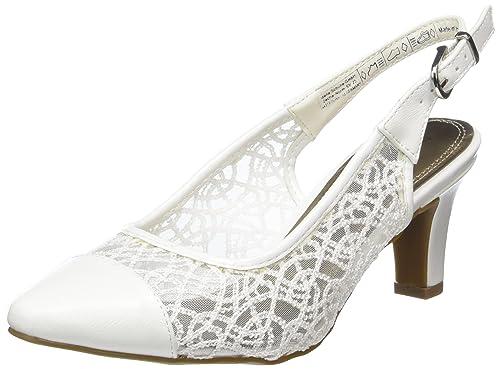 39 White 296 Femme 148 Escarpins KLAIN JANE Blanc Weiß BzHHPRwx
