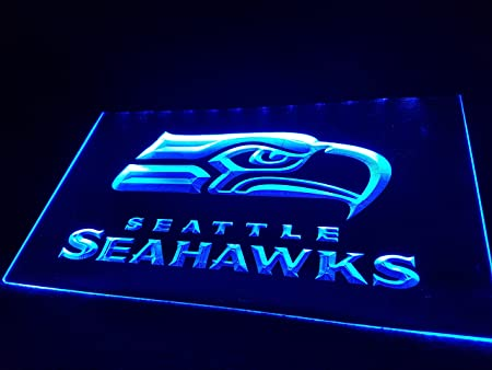 Zhengdian Electronic Seattle Seahawks Bombilla LED Cartel ...