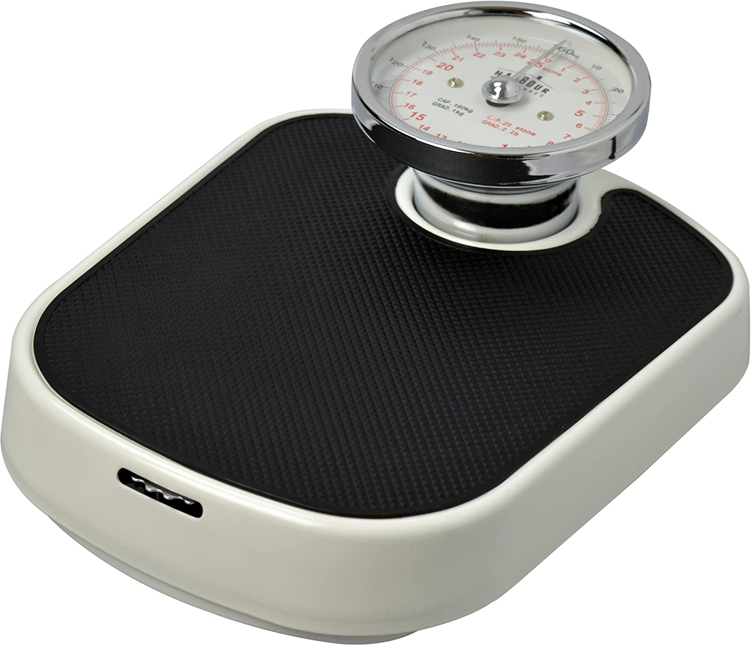 Harbour Housewares Traditional White Bathroom Scales