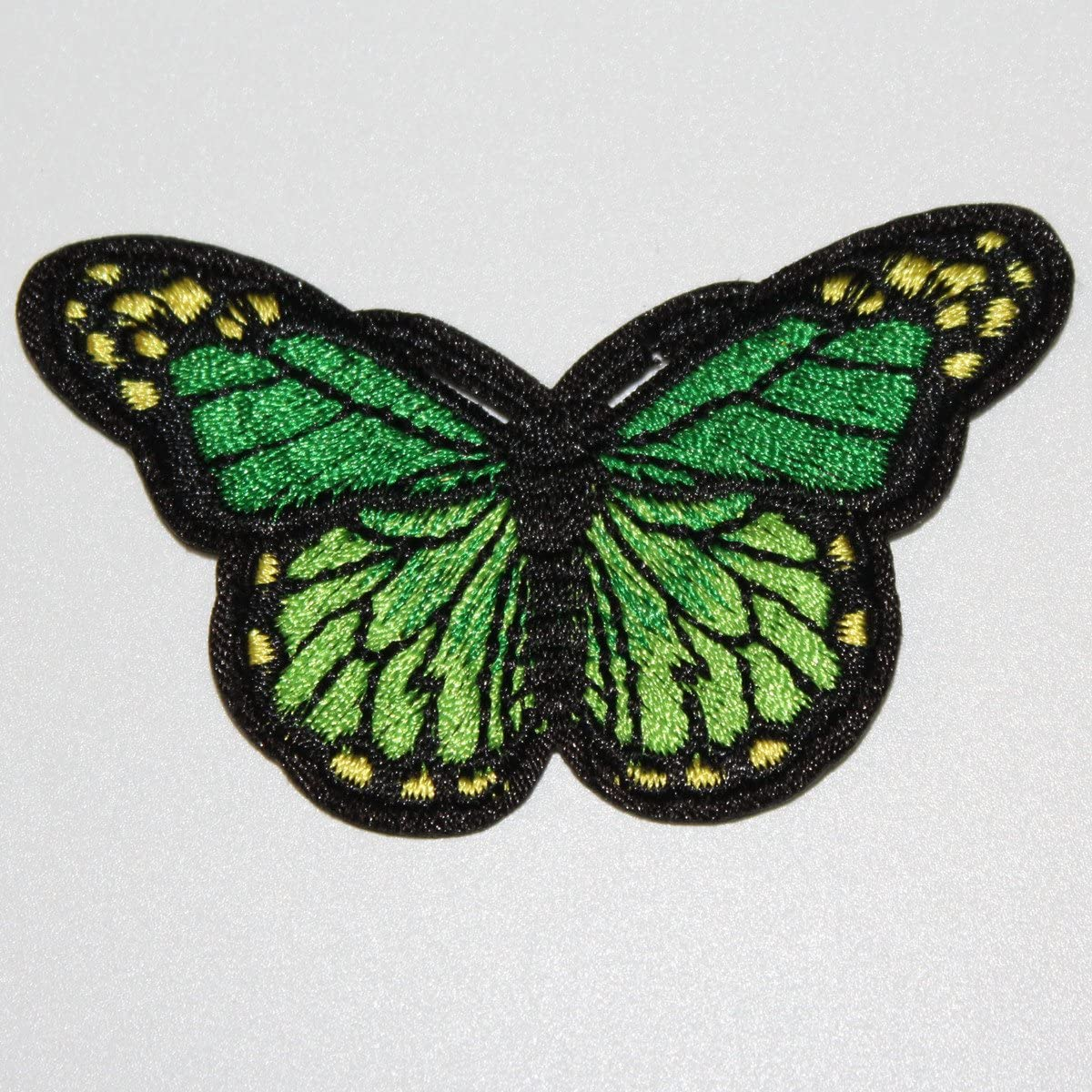10Pcs Embroidery Butterfly Fabric Iron On Sew On Patch Badge Applique