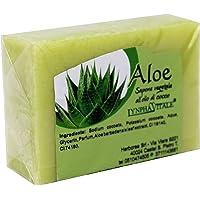 Pure plantaardige aloëzeep - Hydraterende en genezende zeep met anti-verouderingseigenschappen - Handgemaakte Italiaanse…