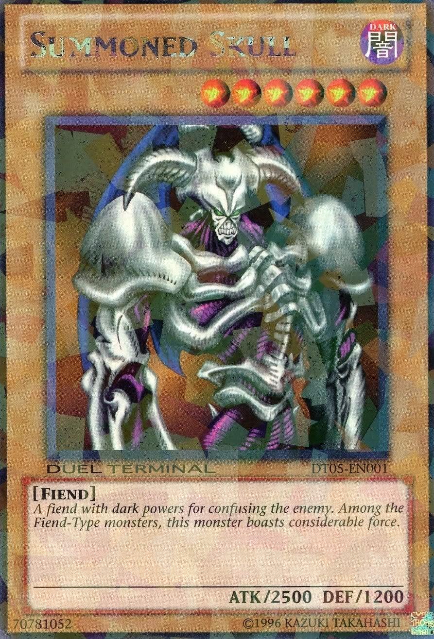 amazon com yu gi oh summoned skull dt05 en001 duel