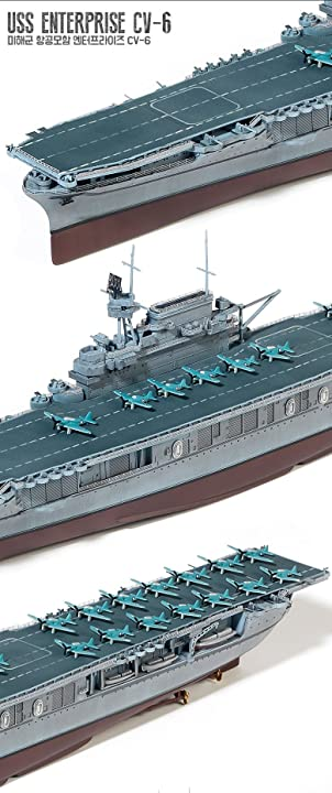 アカデミー 1/700 USS ENTERPRISE CV-6 #14224 ACADEMY MODEL HOBBY KITS
