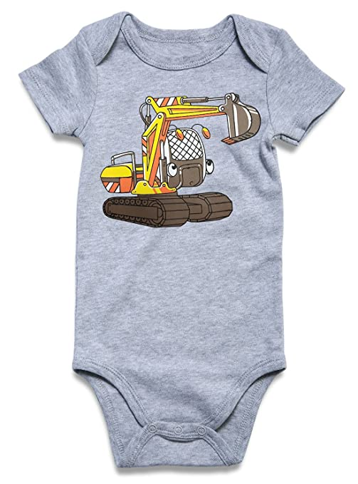 Review BFUSTYLE Baby Boys Girls Short Sleeve Romper Funny Letter Print Onesies Bodysuit 0-18M