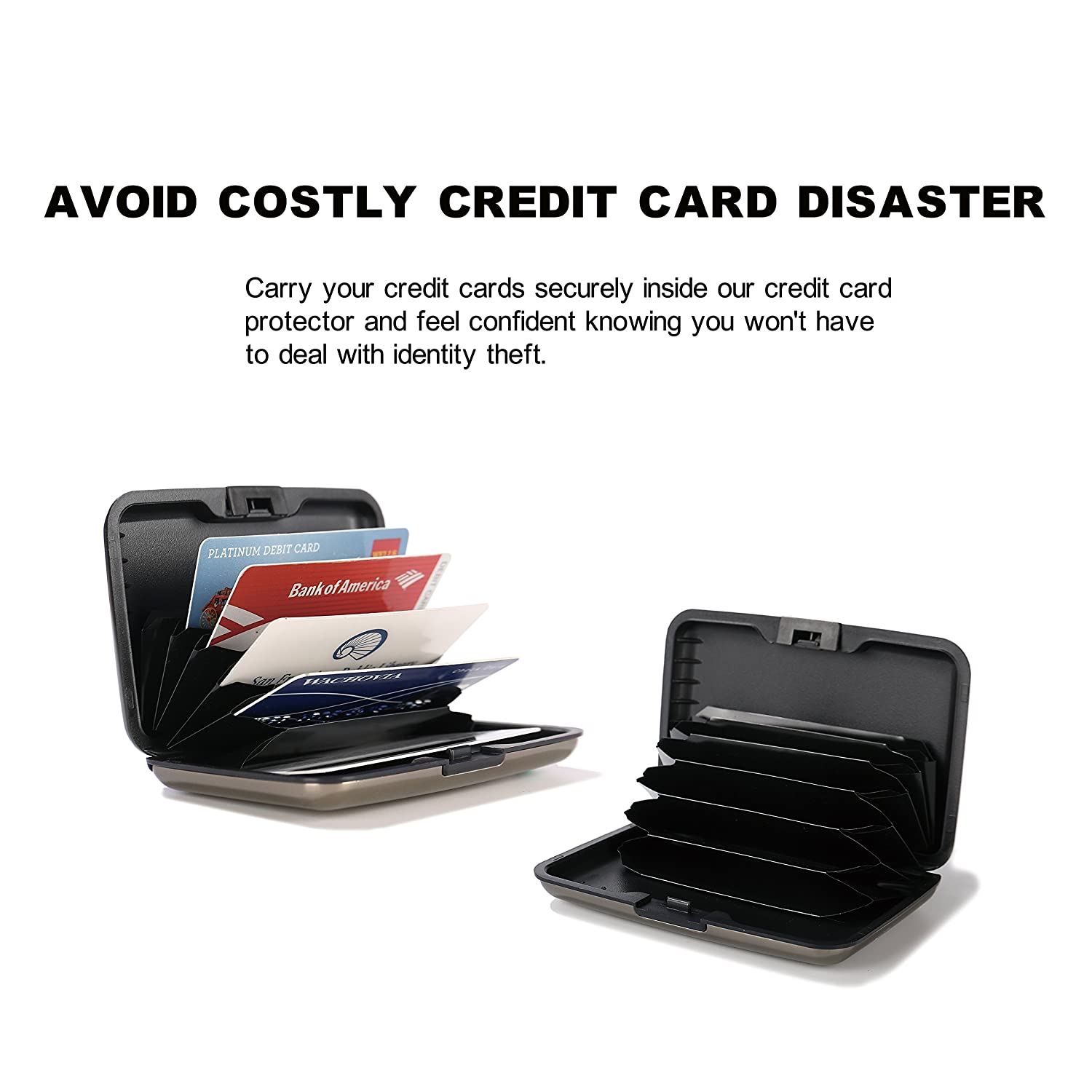 shell d rfid blocking credit card protector office