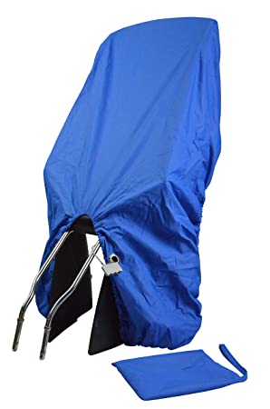 Trockolino sicuro basic dunkelblau Regenschutz für Fahrrad-Kindersitz mit Öse