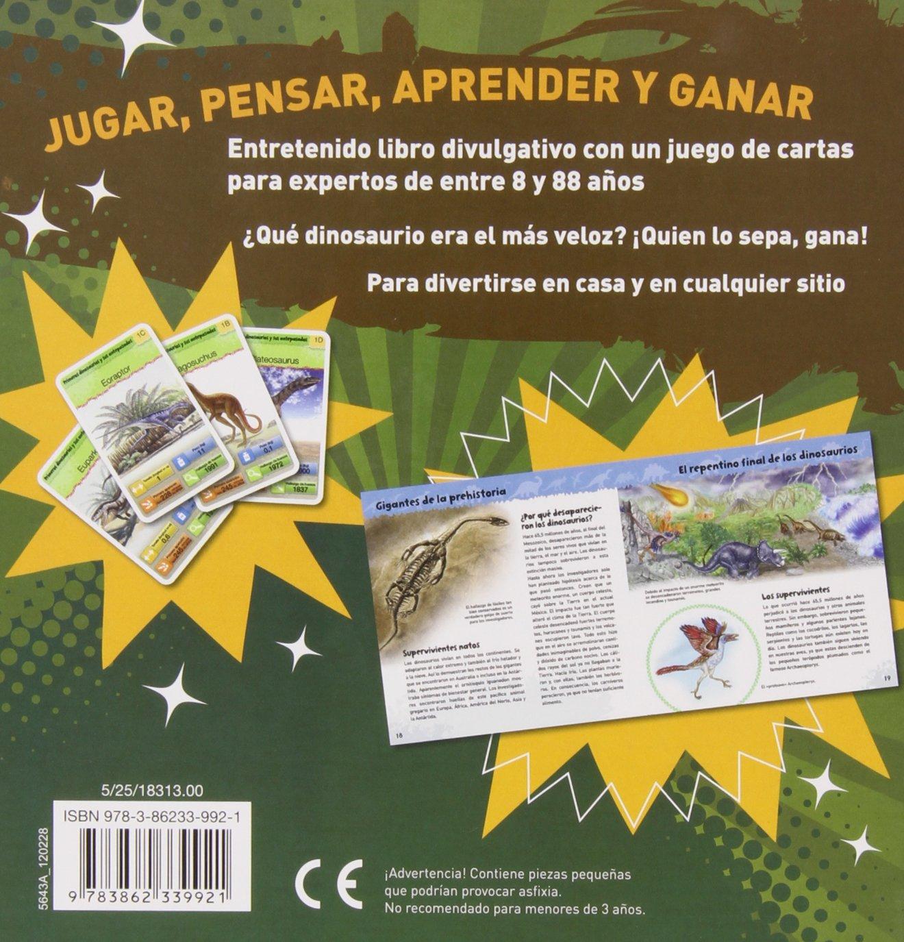 Dinosaurios. Libro Con Cartas: Amazon.es: Vv.Aa.: Libros