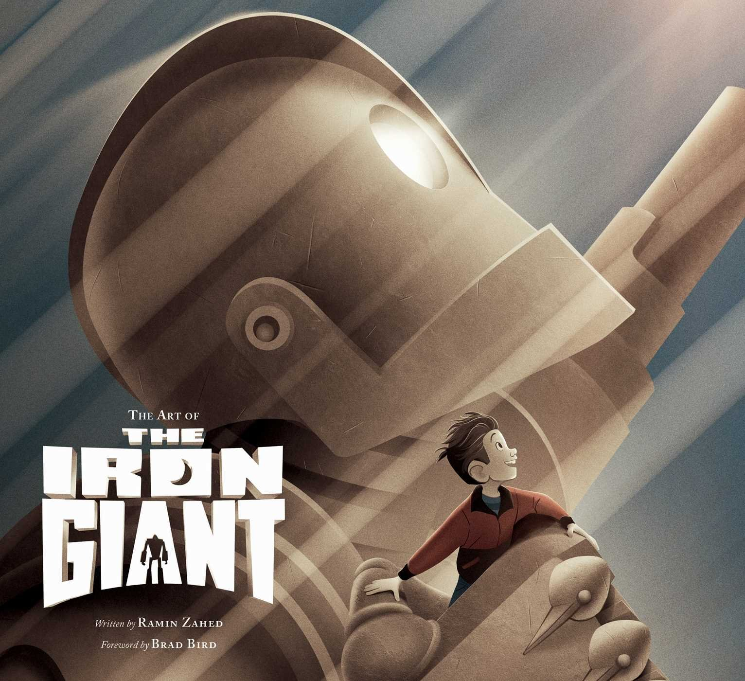 Image result for the iron giant and hogarth