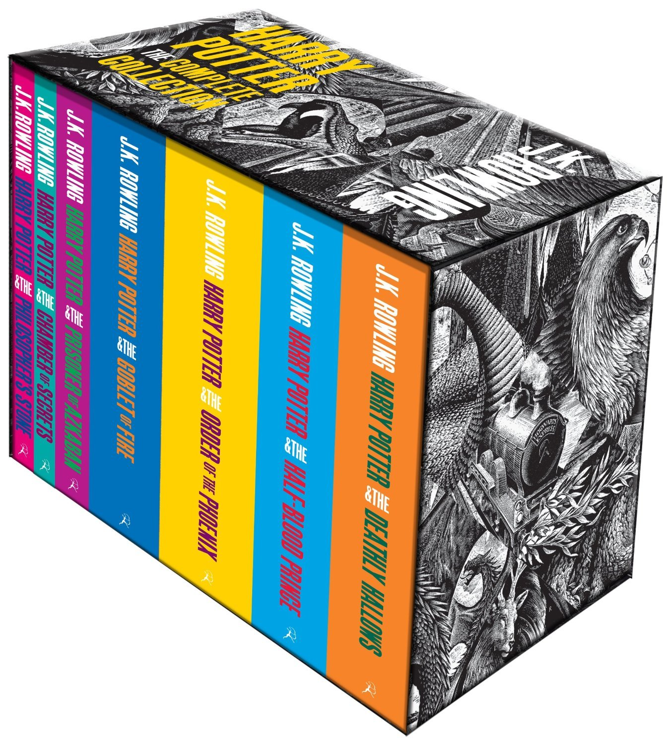 J K Rowling Harry Potter Boxed Set The Complete 7 Books Collection ...