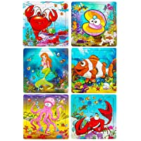 Wooden Puzzles for Kids Ages 2-5, Aitey Toddler Jigsaw Puzzles 20 Pieces Preschool...