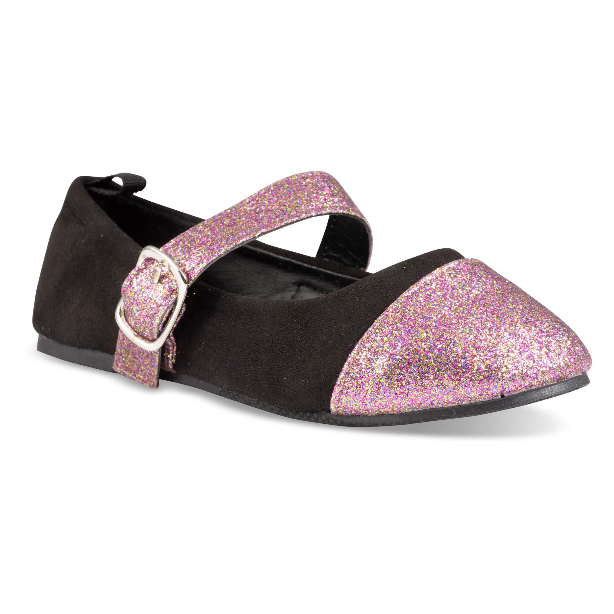 Chillipop Ballerina Flats for Girls, Girls Ballet Flats with Strap