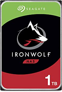 Seagate IronWolf 1TB NAS Internal Hard Drive HDD – CMR 3.5 Inch SATA 6Gb/s 5900 RPM 64MB Cache for RAID Network Attached Storage – Frustration Free Packaging (ST1000VN002), Model:ST1000VNZ02/VN002
