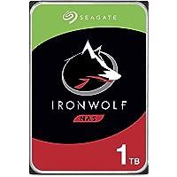 Seagate IronWolf NAS 5900RPM Internal SATA Hard Drive 1TB 6Gb/s 3.5-Inch - (ST1000VN002)