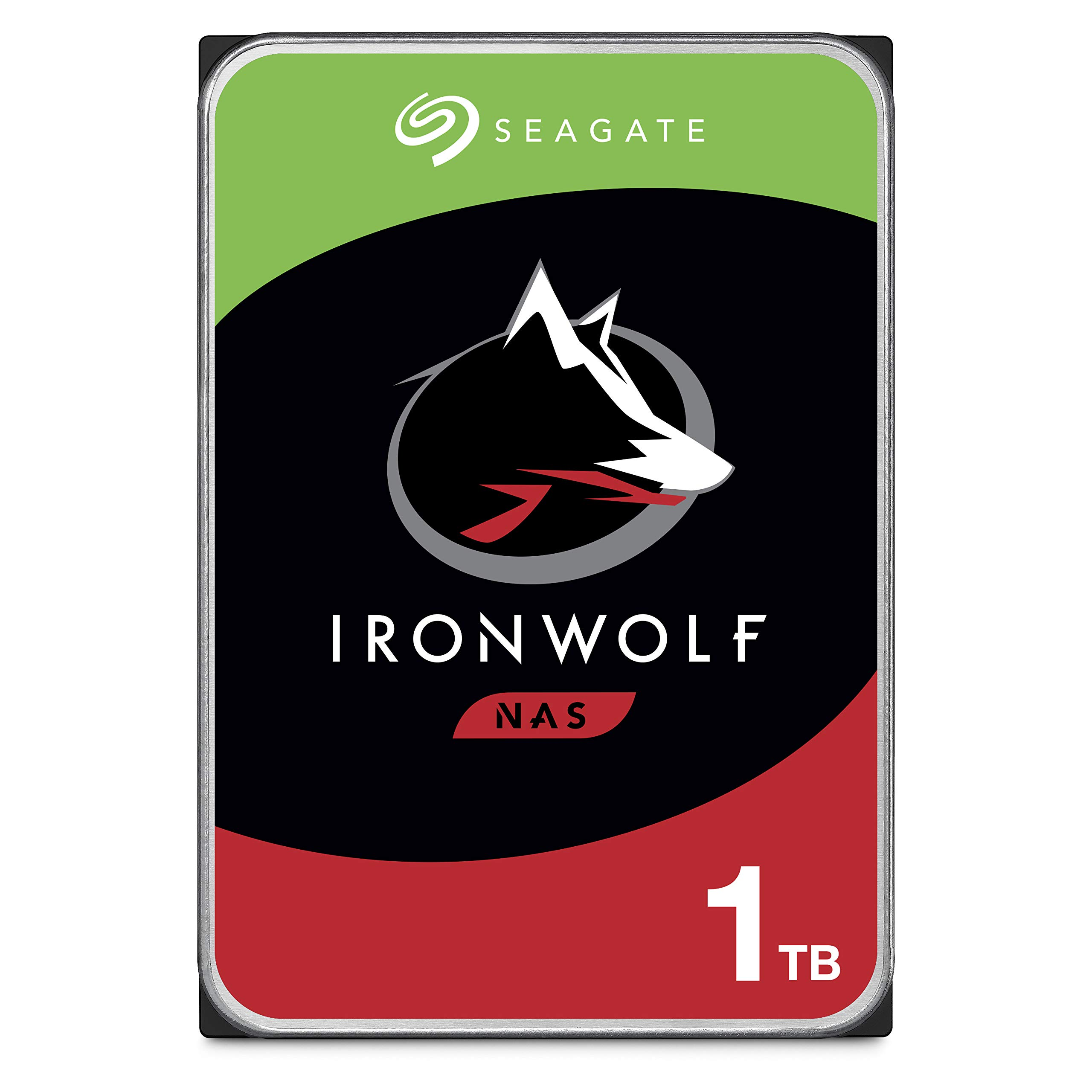 HDD 1TB SATA Seagate IronWolf 1TB NAS 3.5in 6Gb/s 5900 RPM 6