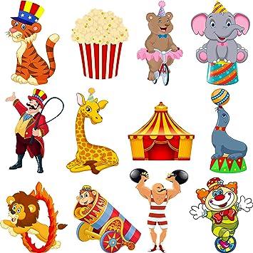 Amazon.com: Zonon 24 Piezas Carnaval Cutouts Party Supplies ...
