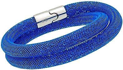 stardust blue double bracelet swarovski