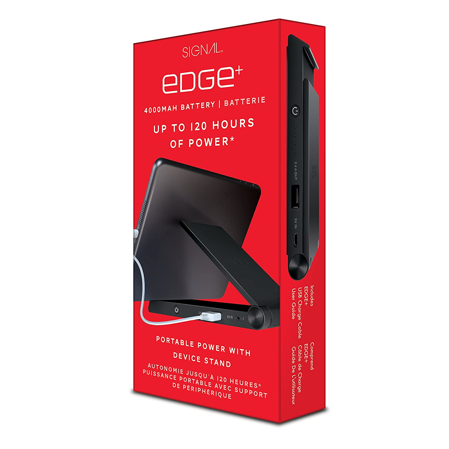 Signal Edge Plus Portable Power with Device Stand (SIG-8203)