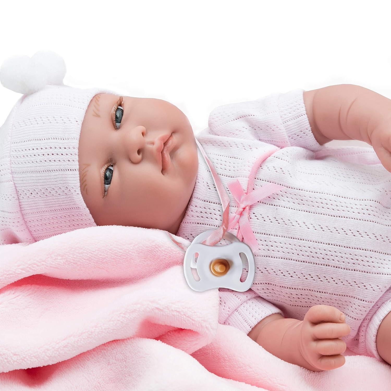 Rauber Muñecas bebes de vinilo para niñas, 42cm (4494)