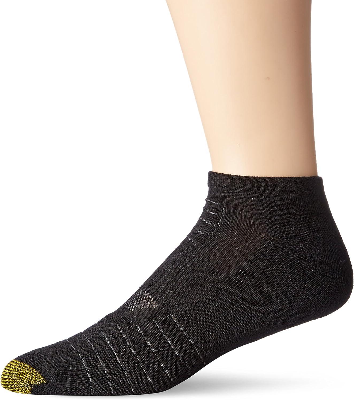 Gold Toe Men/'s Ultra Tec Performance No Show Athletic Socks 2 Colors 3 Pairs