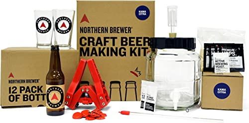 All Inclusive Gift Set 1 Gallon Home Brewing Starter Kit