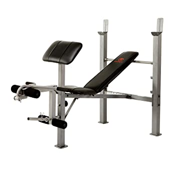 Amazoncom Marcy Classic Standard Bench with Arm Curl Sports