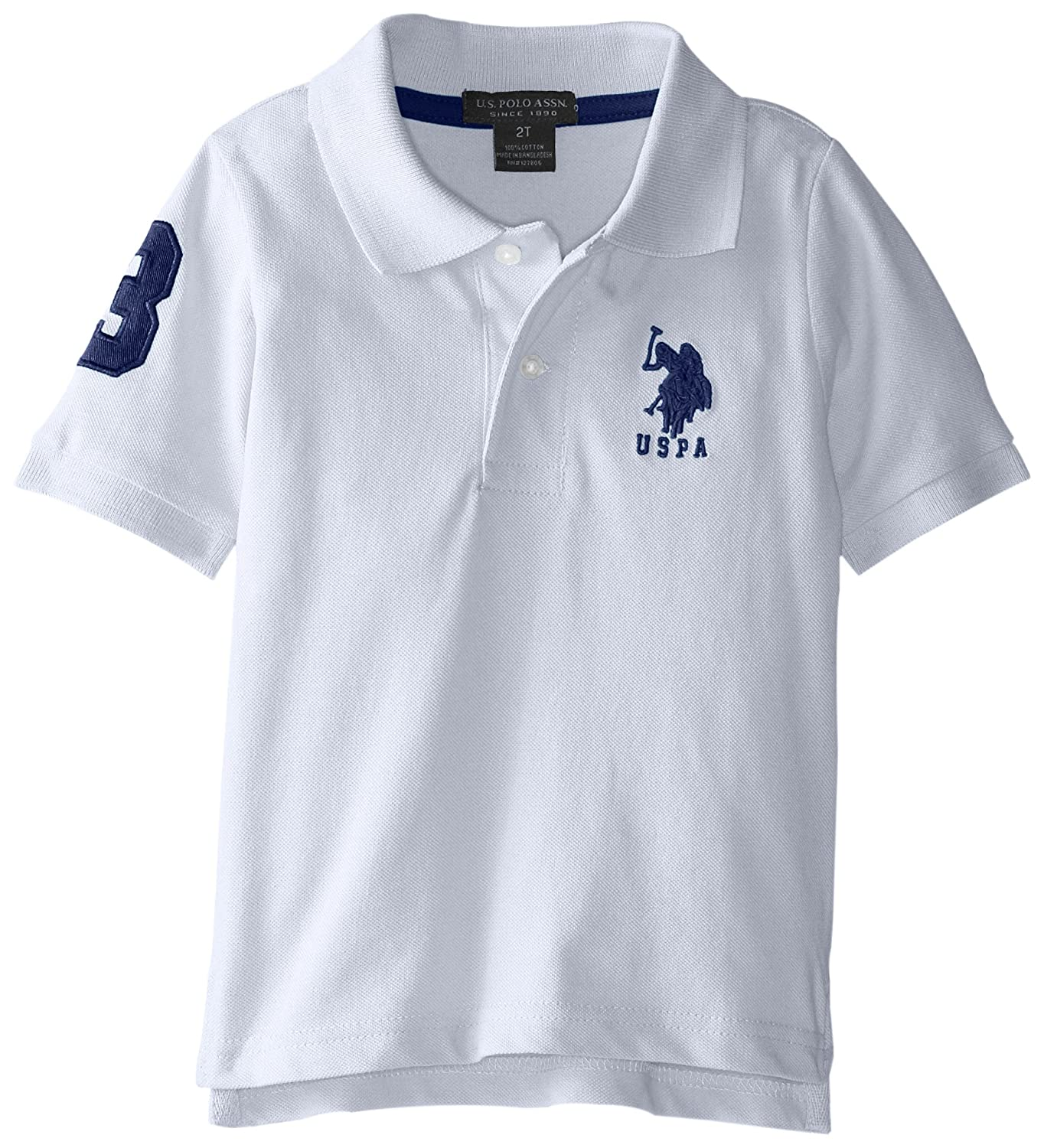 Amazon us polo assn boys solid short sleeve polo shirt amazon us polo assn boys solid short sleeve polo shirt clothing geenschuldenfo Image collections