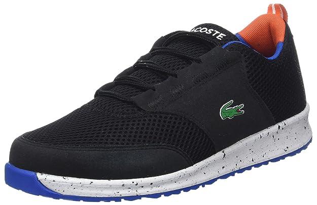 2c9b0d8ae9be Lacoste Light 118 2 Spj, Baskets Mixte Enfant, Noir (Blk/Orange), 38 EU:  Amazon.fr: Chaussures et Sacs